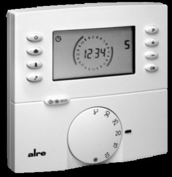 Электронный регулятор температуры для полов /стен и потолка HTRRBu
