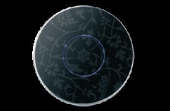 Круглый сенсорный выключатель Basalte Mona с RGB кольцом