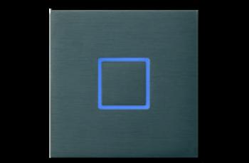 Сенсорный выключатель Basalte Tacto closed с RGB подсветкой