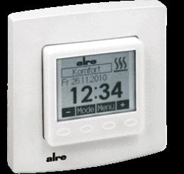 Электронный регулятор температуры полов или помещений HTRRUu